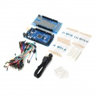 D1213 Mega ATMEGA 2560 Motherboard w/ Expansion Board + Bread Board + USB Cable + LED for Arduino