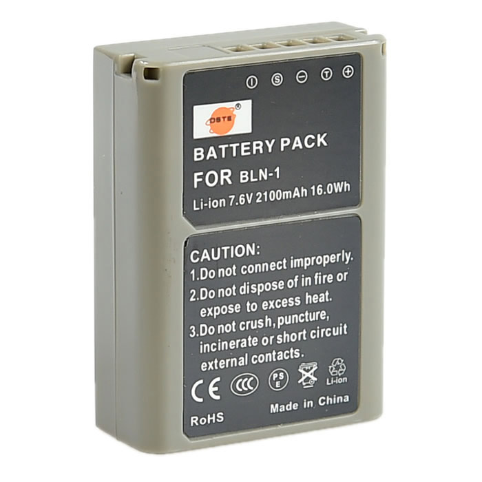 DSTE BLN-1 Battery + DC 133 Charger Set for Olympus OM-D E-M5 PEN E-P5 E-M1 Camera BCN-1 Charger