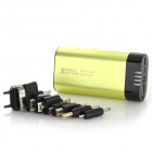 JD-1031 Portable External Battery / Hand Warmer + LED Light for iPad + More - Fluorescence Green
