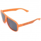 OREKA XM7011 Grey PC Lens UV400 Protection Sunglasses - Orange