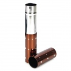 Fashionable Retractable Cosmetic Makeup Blush Brush - Coffee