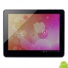 "KOYOPC MR31 10"" Capacitive Screen Android 4.1 Dual Core Tablet PC w/ TF / Wi-Fi / Camera - Silver"