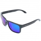 CARSHIRO GF336 Grey REVO Resin Polarized Lens UV400 Protection Sunglasses - Black Frame