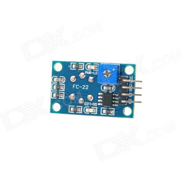 MQ-7 Combustible Gas CO Detector Sensor Module for Arduino (Works with Official Arduino Boards) jiahui tcrt5000 photoelectric sensor module black silver
