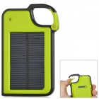 LX-JP14 Solar Powered 1450mAh Charger for Nokia / Samsung / LG / iPhone - Green