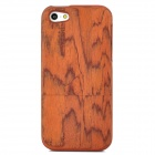 Protective Wood Back Case Cover for Iphone 5 - Brown