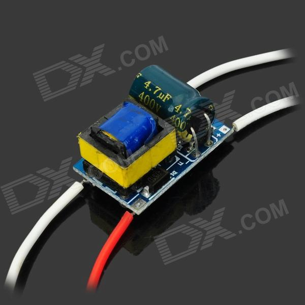 5W Constant Current LED Driver 7030 led driver power supports 4 x 1w black green 5 pcs