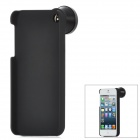 IP-JT-01 0.5X Wide Angle Fish Eye Fisheye Lens for iPhone 5 - Black