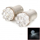 1156 0.5W 40lm 9-LED White Light Car Schalten Lampe (12V / 2 PCS)