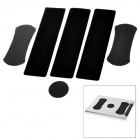 MOLIAN Velcro Tape Stickers Holder Set for Ipad + More - Black