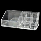 9-Compartment Acrylic Cosmetic Makeup Lipstick / Eyebrow Pen Storage Case - Transparent
