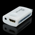 Wii to HDMI HD 1080P Output 3.5mm Audio Converter Adapter