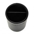 MAKE-UP FOR YOU Professional Cosmetic Makeup Brush PU Storage Case - Black