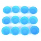 DIY Kitchen Cake / Jelly Pudding Mould - Blue (12 PCS)