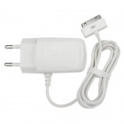 AC Powered Charging Adapter Charger w/ 30-Pin Connector for iPhone 3G / 4 / 4S - White (EU Plug)