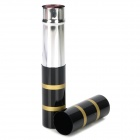 Fashionable Retractable Cosmetic Makeup Blush Brush - Black + Golden
