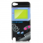 Game Machine Pattern Protective Case for Ipod Touch 5 - Black + Blue