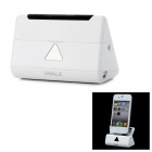 iWALK Smart Angle Portable 5000mAh External Battery Charger Dock for iPhone / iPad / iPod - White