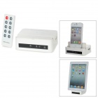 Wireless Wi-Fi Router Charging Data Multi-Functional Dock for iPhone / iPad - White