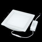 16W 1440lm 6500K White Light 16-LED Flat Lamp (AC 85~265V)