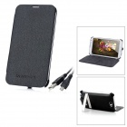 External 3200mAh Battery Back Case for Samsung Galaxy Note II / N7100 - Black