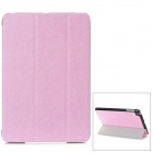 Stylish Protective PU Leather Case for iPad Mini - Pink