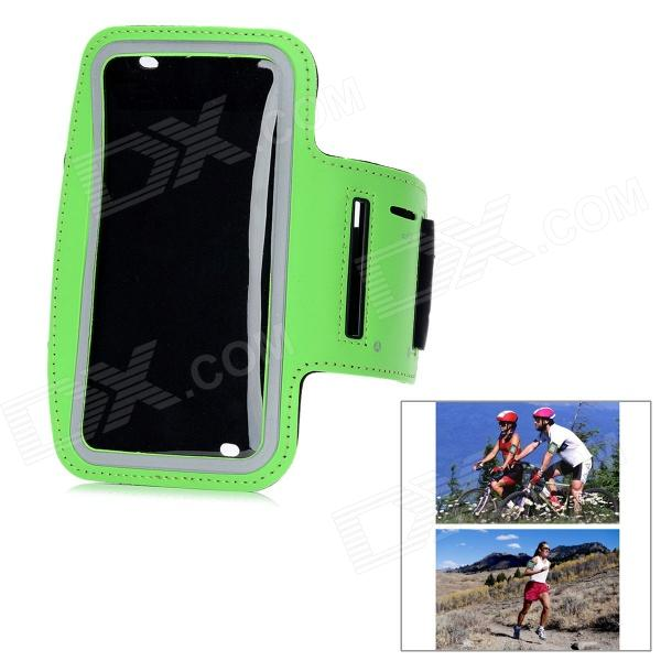 все цены на  Sports Outdoor Armband for Samsung Galaxy Note 2 N7100 - Black + Green  онлайн