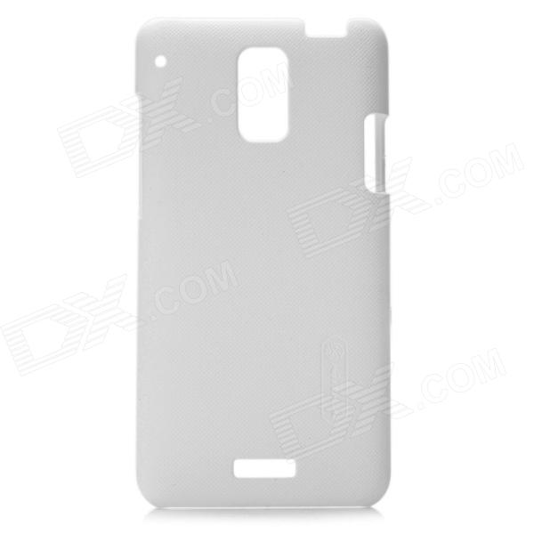 NILLKIN Super Frosted Protective Plastic Back Case for HTC J Z321e - White - Free Shipping - DealExtreme