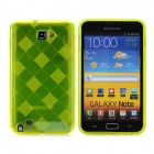 Karomuster Protective Soft TPU Tasche für Samsung Galaxy Note i9220 - Yellow