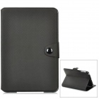 Football Pattern Protective PU Leather Case for iPad Mini - Black