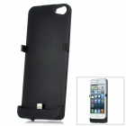 5V 2800mAh Portable External Power Battery Charger for iPhone 5 - Black