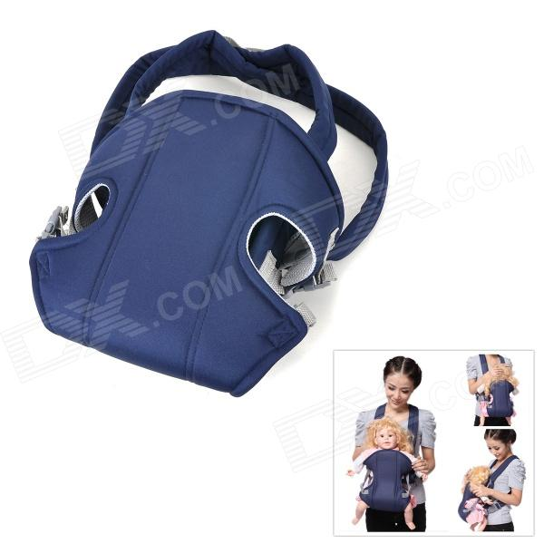 Multi-Function Portable Comfortable Cotton Baby Carrier Sling - Blue
