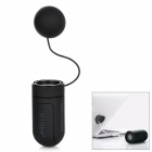 X-Sticker Portable Music Vibration Resonance Speaker for iPhone / iPad / Cell Phone / MP3 - Black