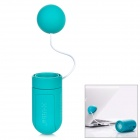 X-Sticker Portable Music Vibration Resonance Speaker for iPhone / iPad / Cell Phone / MP3 - Green