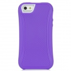 SiLiTo Protective TPU + Plastic Case for Iphone 5 - Purple