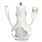 IPEGA PG-I5021 Car Cigarette Powered Charger w/ USB + Winder for iPhone 5, iPad mini, iPod Touch 5