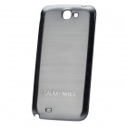 Replacement Battery Back Cover Case for Samsung Galaxy Note 2 N7100 - Silver Grey