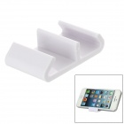 Mini Mountain Shaped Stand Holder for iPhone 4 / 4S / 5 + More - White