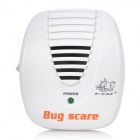 FCAT KD-28A Ultrasonic Electronic Mouse &amp; Rat Repeller w/ EU Plug - White (AC 90~110V)