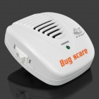 FCAT KD-28A Ultrasonic rato Electronic & Rat Repeller w / UE Plug - Branco (AC 90 ~ 110V)