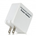 EP-533 3000mAh Mobile Power laddare för Iphone 4 / 4S / 5 / Ipod / Ipad - vit