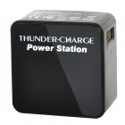 EP-533 3000mAh Mobile Power Battery Charger for Iphone 4 / 4S / 5 / Ipod / Ipad - Black