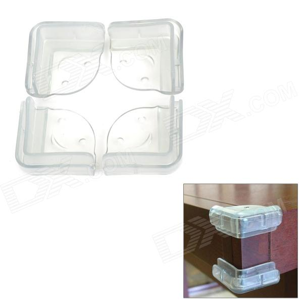 Table Corner Safety Cover for Child - Translucent (4 PCS)
