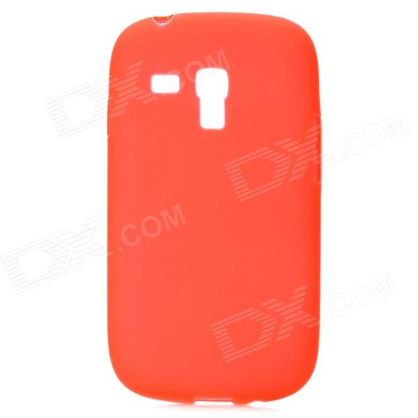 цена Protective PVC Case for Samsung i8190 Galaxy S3 Mini - Red