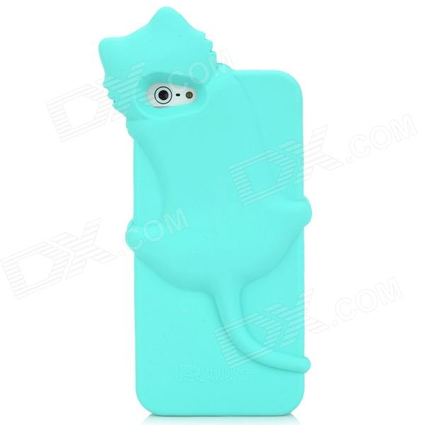 cute cat shape protective silicone soft back case for