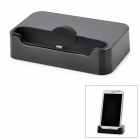 Portable Charger Dock Cradle Stand for Samsung Galaxy Note II N7100 - Black