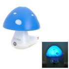INHIDA YHD-MGDH Mushroom Shape 1/5W 3-LED Blue Light Control Lamp (AC 220V / 2-Flat- Pin Plug)