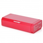 ISMARTDIGI IP5011R Rechargeable 6000mAh Mobile Emergency Battery Charger for Iphone + More - Red
