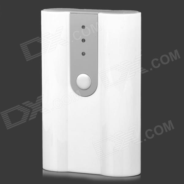 5V Battery Shell Case for Mobile Phone + Camera + More - White + Grey 1pcs lot battery holder box case 3x aa 4 5v with switch