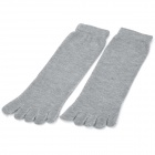 Men&#039;s Outdoor Sports Cotton Socks - Grey (Pair)